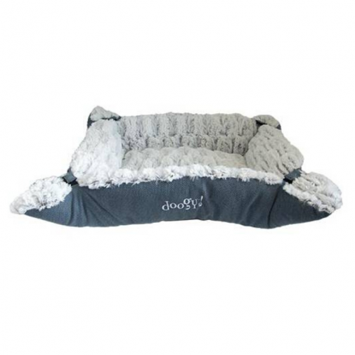 Multirelax Ouatiné Whooly Bleu Cocooning