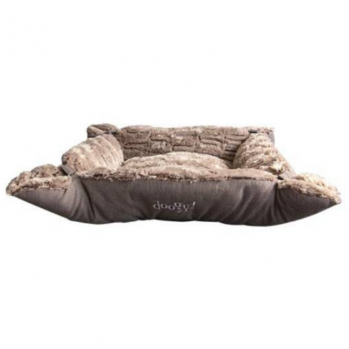 Multirelax Ouatiné Whooly Taupe Cocooning.